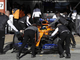 McLaren garage fire played down as 'very small'