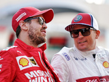 Kimi tells Vettel: That's how it is at times