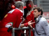 Wolff lifts lid on Ferrari-Mercedes relations