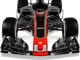 Haas reveals new livery and VF-17 car