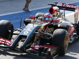 Gearbox issue robs Grosjean of first points