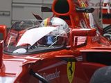 """Sebastian Vettel performs first test of the """"Shield"""" at Silverstone"""