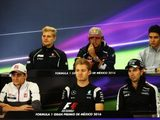 2016 Mexican Grand Prix – Thursday Press Conference