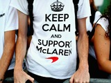 Keep calm and support McLaren