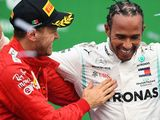 Vettel: 'Lucky' Mercedes had more speed