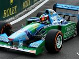 Mick Schumacher completes F1 demo in father's Benetton B194