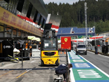 In pictures: Formula 1 adapts to social distancing