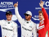 Hamilton beaming after Monza pole