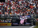 "Sergio Perez: ""We knew that getting into the points was going to be tricky"""