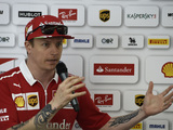 "Raikkonen: ""It was a bit of a weird accident"""