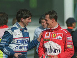 Hill on 'po-faced, chin jutting' Schumi