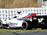 Canadian rookie Lance Stroll spins out of second consecutive day of testing