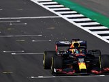 Red Bull runs RB16 at Silverstone filming day