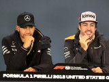 Fernando Alonso says Lewis Hamilton ranks among top five F1 greats