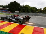 """Hamilton: Mercedes was a """"handful"""" compared to rivals in wet weather at Spa"""