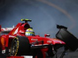 Massa rues 'strange' crash