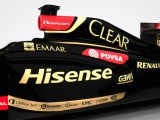 Hisense joins Lotus as three-race sponsor