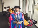 Christian Horner Receives Honorary Degree at Cranfield University