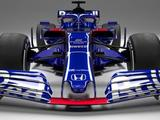 Toro Rosso unveil Red Bull-inspired car and new driver line-up