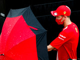 Vettel, Leclerc both have one eye on weather