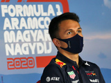 Albon: No need to panic over pace deficit to Verstappen