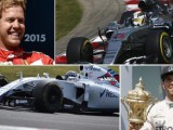 Who's top of the Formula 1 charts?