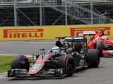 Alonso not frustrated, but not happy looking like amateur