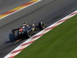 Maldonado refuses blame for Spa exit