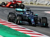Bottas ends day one of Spain test P1