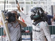 Rosberg wins chaotic Belgian GP