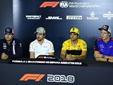 Thursday's FIA driver press conference