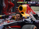 Webber: It's noisy without a helmet