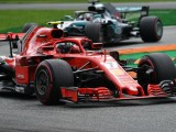 Raikkonen the meat in a Mercedes sandwich