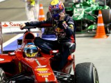 Webber pays dearly for Alonso taxi ride