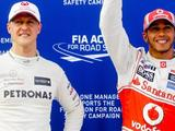 Hamilton dedicates pole record to Schumacher