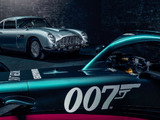 Aston Martin and Alfa Romeo show off livery tweaks with 007 and Italian themes