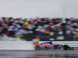 Sainz leads wet first Suzuka session