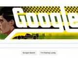 Google celebrates Senna's 54th birthday with doodle