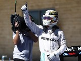 Lewis Hamilton beats Nico Rosberg to US GP F1 pole position