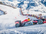 WATCH: Verstappen drives Red Bull on ski slopes