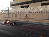 Gasly completes Abu Dhabi wet-tyre test