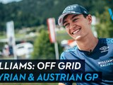 Video: Off grid with Williams Racing in Austria