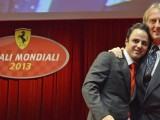 Massa given his Ferrari send-off