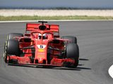 """Sebastian Vettel: """"Today it was quite slippery and gusty and it was a mixed day"""""""