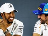 Lewis Hamilton 'grateful' for text messages from Fernando Alonso and Ron Dennis