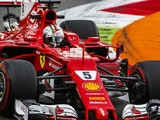 Sebastian Vettel lacked confidence in his Ferrari in Monza practice
