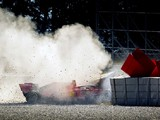 Ferrari will continue to investigate rim failure after test crash