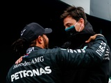 Wolff: Curveballs behind Hamilton's delayed contract