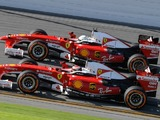 Video: Vettel and Raikkonen demo 2009 F1 cars at Ferrari event