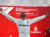 Hamilton: German GP win up there with my best